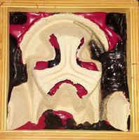 verzameling kistje masker
