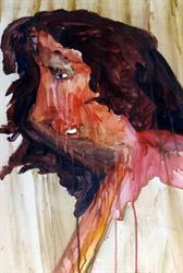 verwaaid portret vrouw