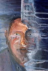 verwaaid gespleten portret